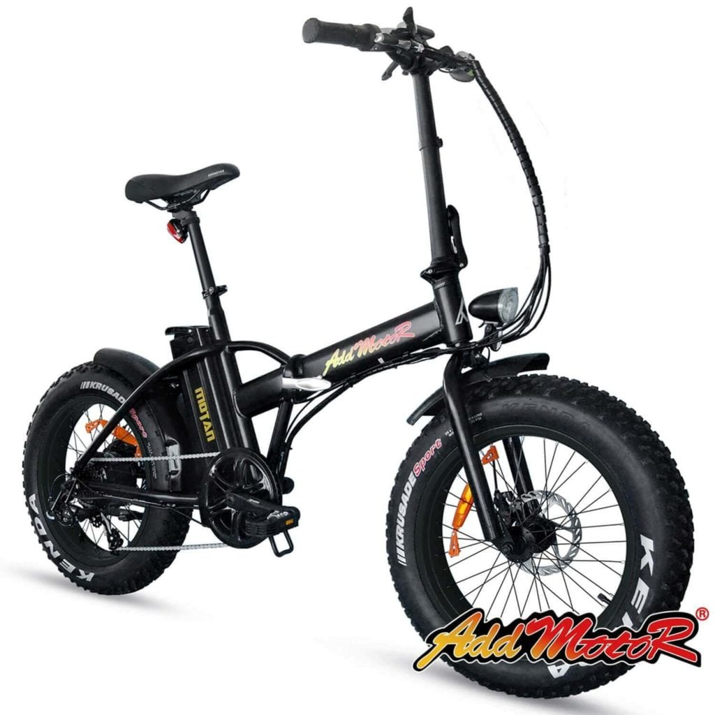 Addmotor Fat Tire Folding Electric Bike