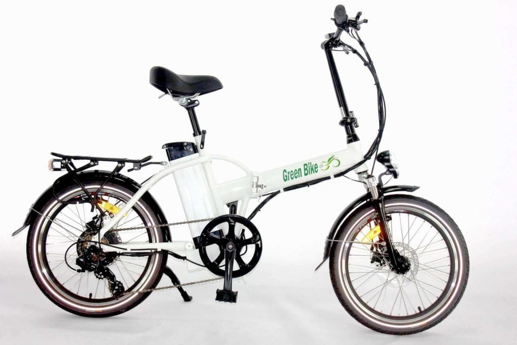 Greenbike Full Suspension Electric Bike